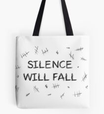 Silence will fall  • Doctor Who Tote Bag