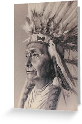 Red Cloud by BarbBarcikKeith