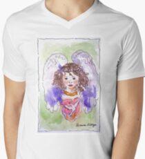 Angel of Peace V-Neck T-Shirt