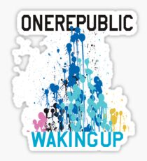 Waking Up Deluxe Sticker