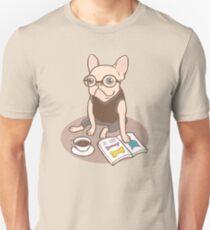 The Hipster Reader T-Shirt