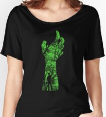 EVIL DEAD - HAND'S UP Women's Relaxed Fit T-Shirt
