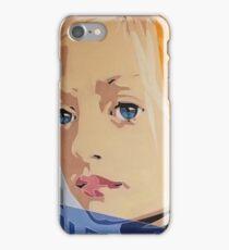 Blue Eyed Girl iPhone Case/Skin