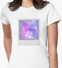 Universe Unicorn Women's Fitted T-Shirt