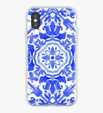 Portuguese azulejo tiles.  iPhone Case