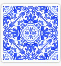 Portuguese azulejo tiles.  Sticker