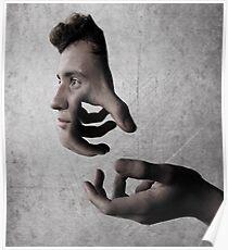 Andrew's Hands Poster