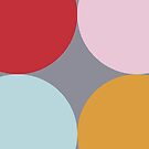 Four Dots Colour Design by dickybow