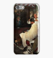 Barber - A time honored tradition 1941 iPhone Case/Skin