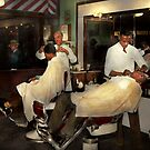 Barber - A time honored tradition 1941 by Mike  Savad