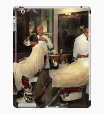 Barber - A time honored tradition 1941 iPad Case/Skin