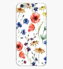 Wildblumen-Aquarell iPhone-Hülle & Cover