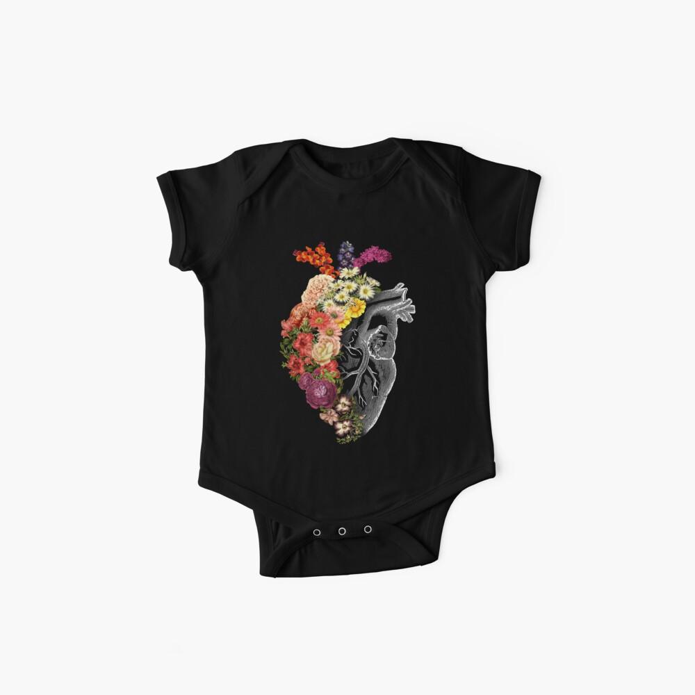 Flower Heart Spring Baby One-Piece