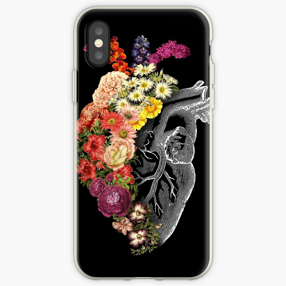 Flower Heart Spring iPhone Cases & Covers