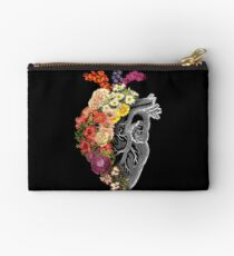 Flower Heart Spring Studio Pouch