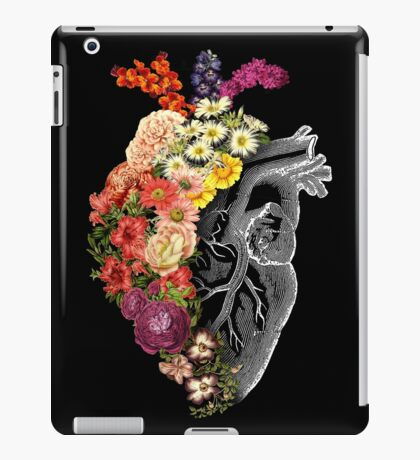 Flower Heart Spring iPad Case/Skin