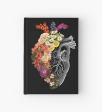 Flower Heart Spring Hardcover Journal