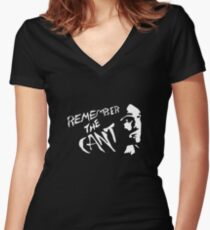 Remember The Cant (The Expanse) #1 Women's Fitted V-Neck T-Shirt