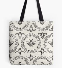 Seamless pattern with Bee Tote Bag