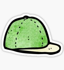 cartoon cap Sticker