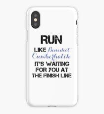 Run - Benedict Cumberbatch iPhone Case