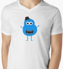 Funny Vintage/Retro Monster Men's V-Neck T-Shirt
