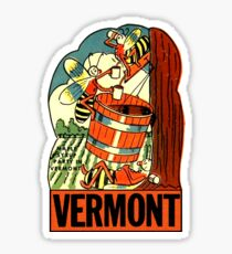 Pegatina Vermont Maple Syrup Party Vintage Travel Decal