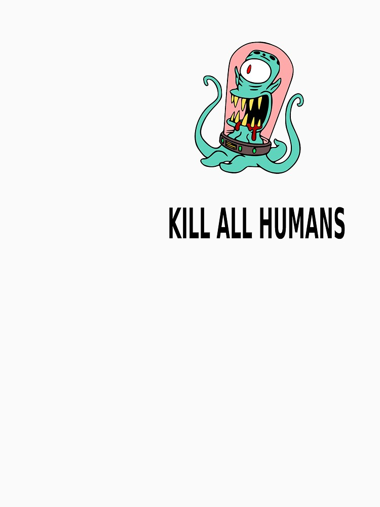 Simpson Alien kill humans by octobordeaux