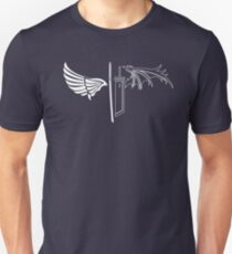 Final Fantasy VII - One Winged Angels on dark T-Shirt