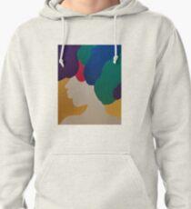 Mardi Gras Afro II Pullover Hoodie
