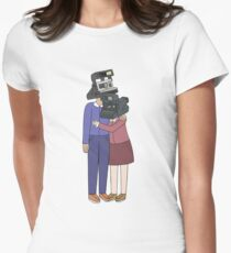 Camera Couple Women's Fitted T-Shirt