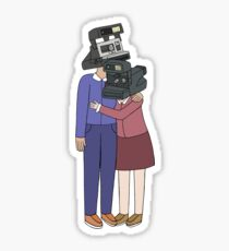 Camera Couple Sticker