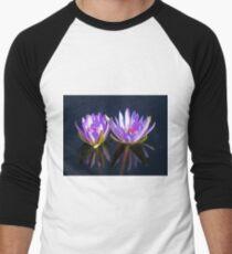 Water Lillies Men's Baseball ¾ T-Shirt