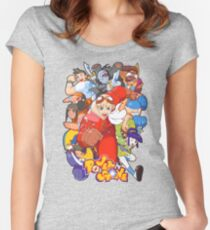 Power Stone Women's Fitted Scoop T-Shirt