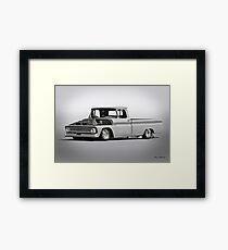 1962 Chevrolet Custom C10 Pickup Framed Print