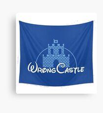 Wrong Castle (Walt Disney) Canvas Print