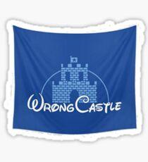 Wrong Castle (Walt Disney) Sticker