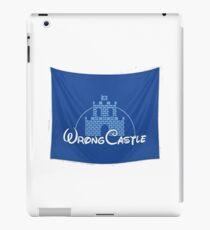 Wrong Castle (Walt Disney) iPad Case/Skin
