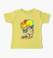 """Vintage """"Up, Up & Away"""" Rainbow Brite, Sprite, Twink, White, Colorful, Bright, Retro, Yellow, Gold, Mustard, 80's, Cartoon, Babies, Throwback, Pop Culture, My Childhood   Kids Clothes"""