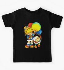 "Vintage ""Up, Up & Away"" Rainbow Brite, Sprite, Twink, White, Colorful, Bright, Retro, Yellow, Gold, Mustard, 80's, Cartoon, Babies, Throwback, Pop Culture, My Childhood   Kids Clothes"
