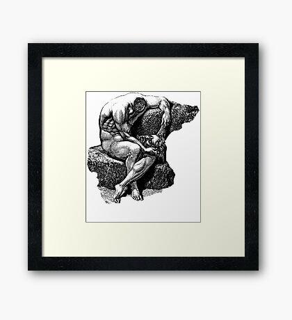 Headless Framed Print