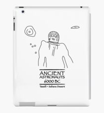Ancient Astronauts Tassili 6000 BC iPad Case/Skin