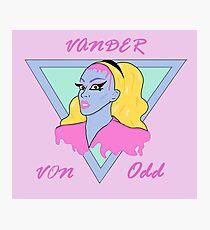 Vander Von Odd Dragula Queen Photographic Print