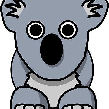 Cartoon koala by seriouscereal