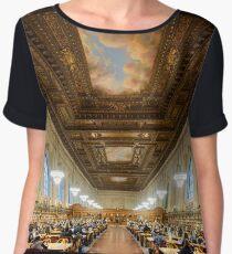 NYPL - New York Public Library  Chiffon Top