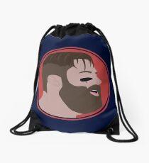 JE11 Vector Protrait Drawstring Bag