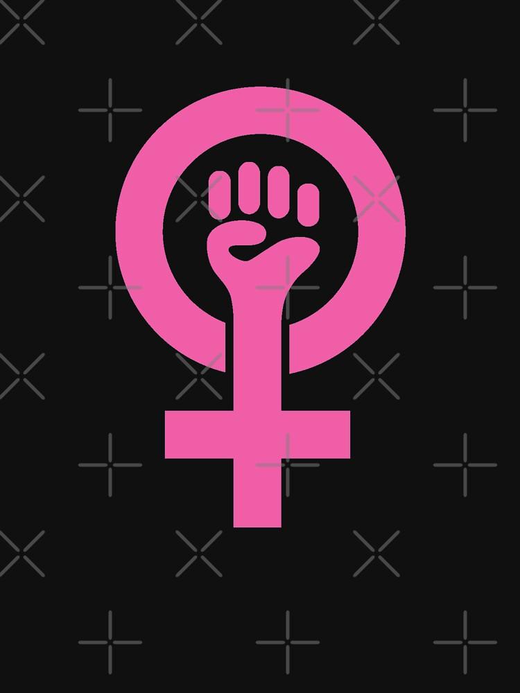 Feminist Symbol Shirt Pink First Trump Impeach Womens March