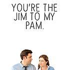 JIM/PAM 2. by glitteredgold