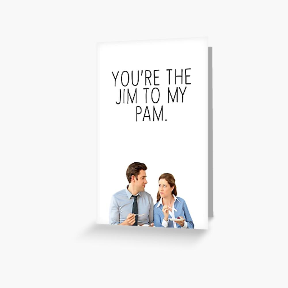 JIM/PAM 2. Greeting Card