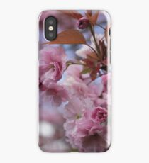 Cherry Blossoms In Spring iPhone Case/Skin